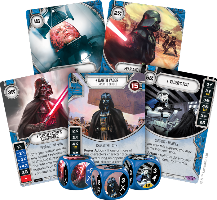 Star Wars Destiny: Across the Galaxy - Display Box