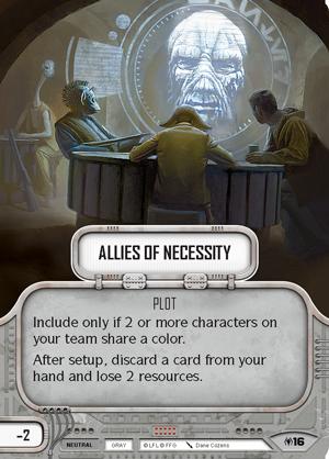 Star Wars Destiny: Allies of Necessity Draft Pack