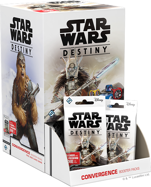 Star Wars Destiny: Convergence Display Box PRE-ORDER