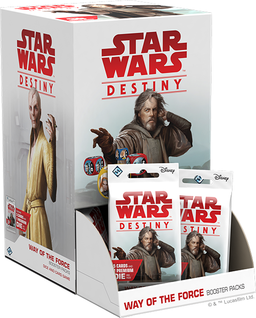 Star Wars Destiny: Way of the Force - Display Box