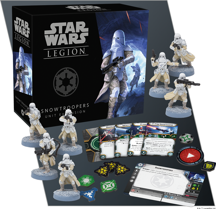Star Wars Legion: Snowtroopers Unit