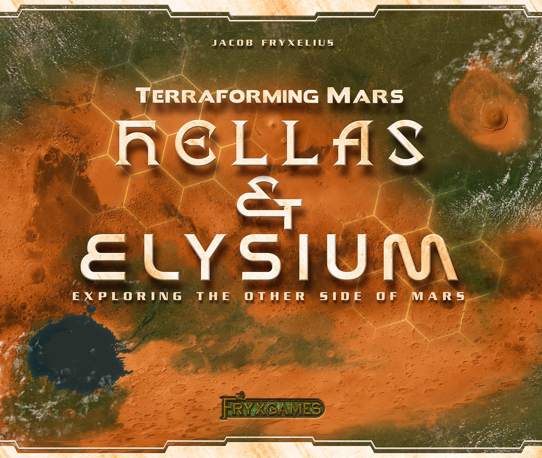 Terraforming Mars: Hellas & Elysium (Expansion)