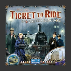 Ticket To Ride Map Collection Volume 5 - UK & Pennsylvania