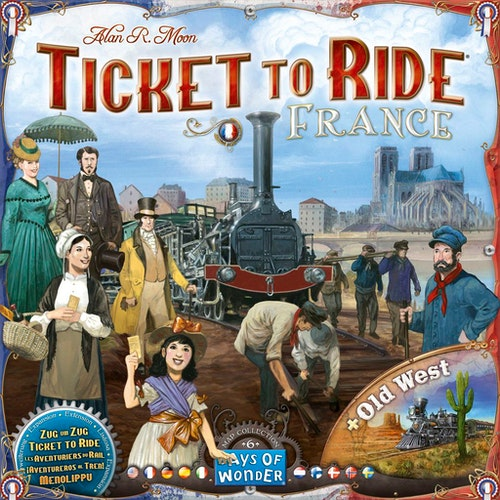 Ticket To Ride Map Collection Volume 6 - France & Old West (Expansion)