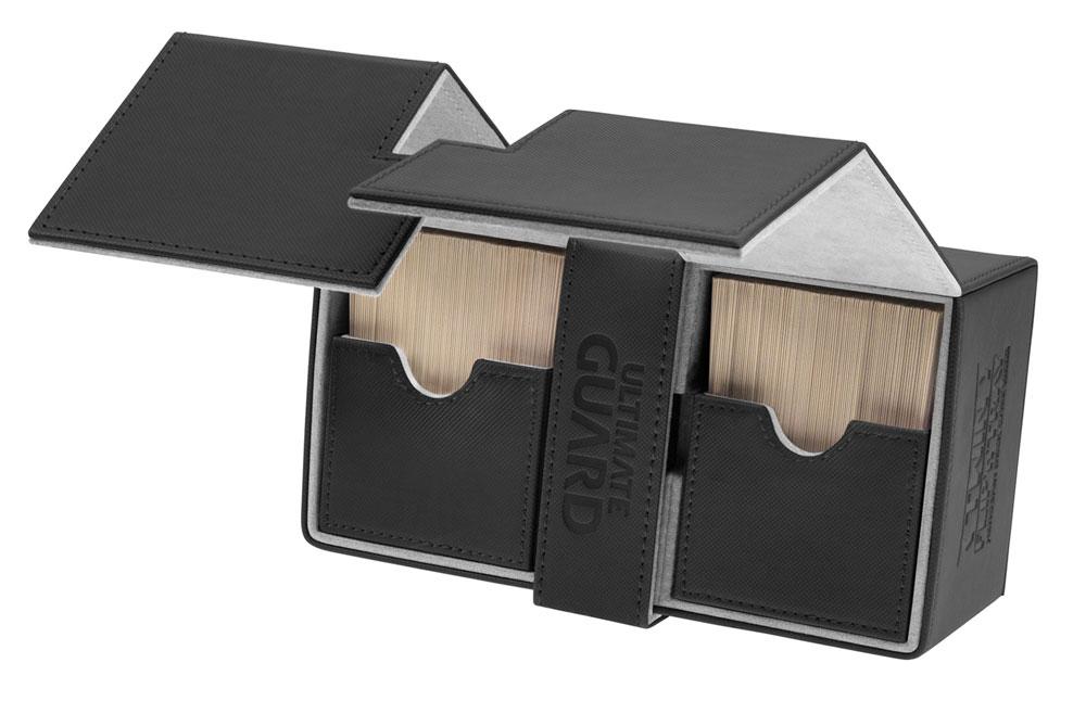Twin Flip´n´Tray Deck Case 160+ Black