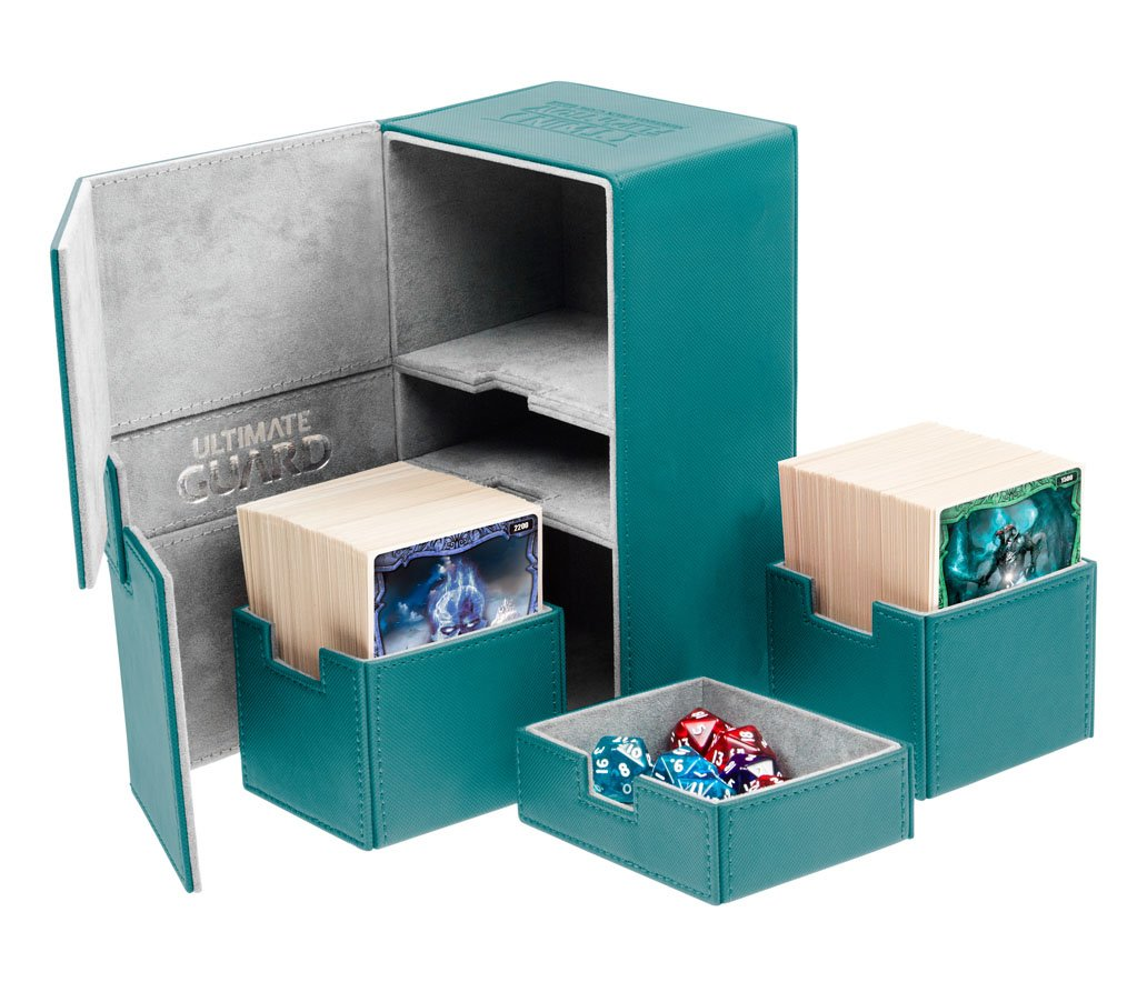 Twin Flip´n´Tray Deck Case 200+ Different Colours