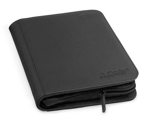 U.G. 4-pocket Standard Size Zipfolio Xenoskin Bind
