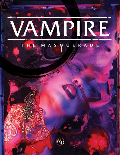 Vampire: The Masquerade 5th Ed Core Book Hardback