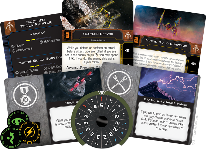 X-Wing (2nd Ed):  Mining Guild TIE Expansion Pack