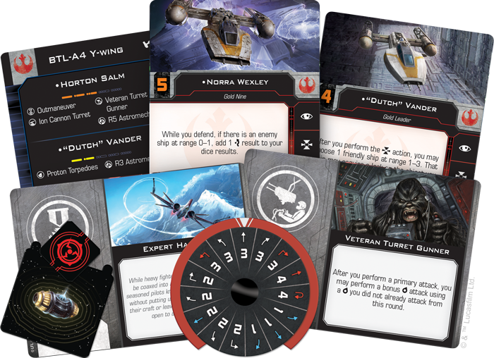 X-Wing (2nd Ed): BTL-A4 Y-Wing