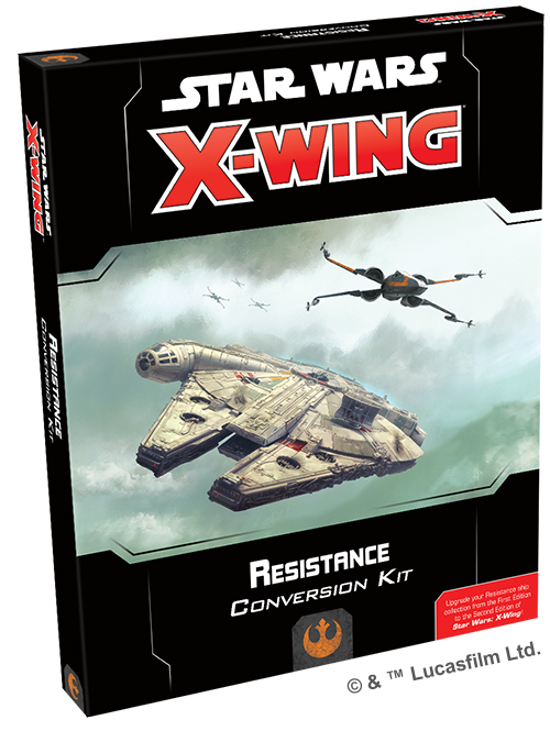 X-Wing (2nd Ed): Resistance Conversion Kit