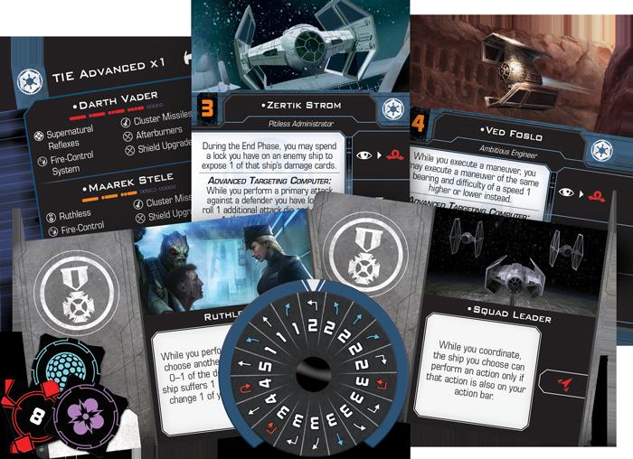 X-Wing (2nd Ed): TIE Advanced x1