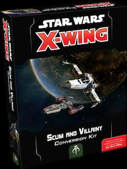 X-Wing 2nd Edition: Scum & Villainy Conversion Kit