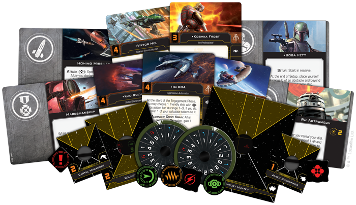 X-Wing 2nd Edition: Scum & Villainy Conversion Kit