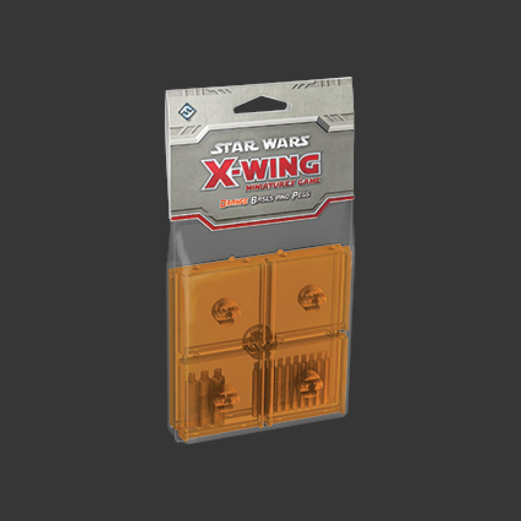 X-Wing: Bases and Pegs Expansion Packs: different colours