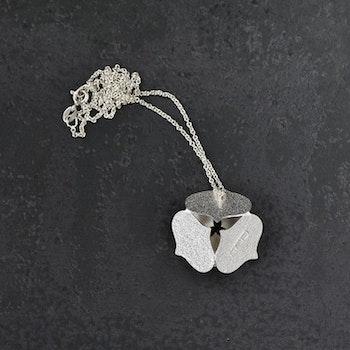 Blomhänge med kedja, medium