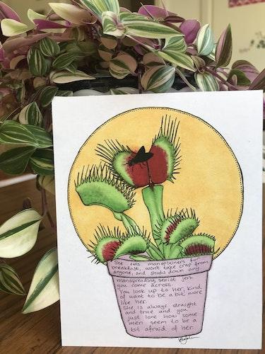 Växtvän Flugätare