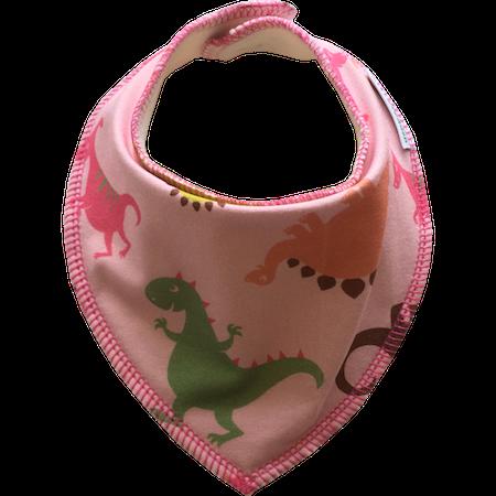 EKO  Dregglis med dinosaurier, rosa