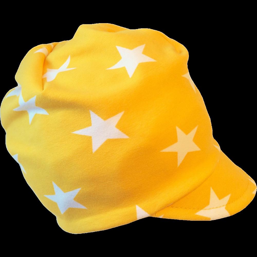 EKO Meps - kepsmössa - Gul med stjärnor