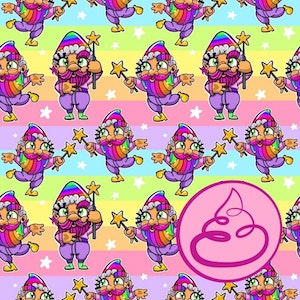 - Fairy Gnome Party - Pastell -