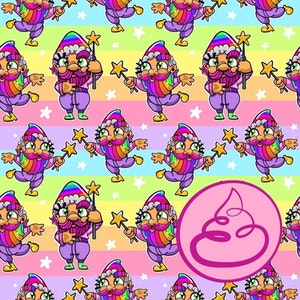 Fairy Gnome Party - Pastell -