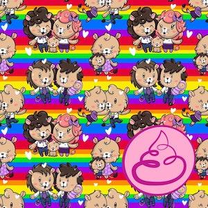 WE ARE FAMILY - Rainbow -