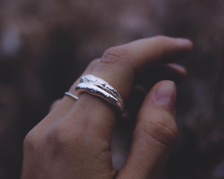 ''Vintergatan'' Silver Ring