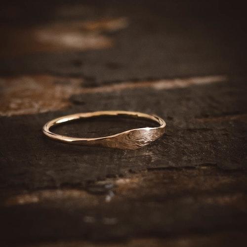 ''Idun'' 18k Red Gold Ring