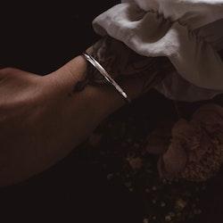 ''Skimra'' Silver Bracelet