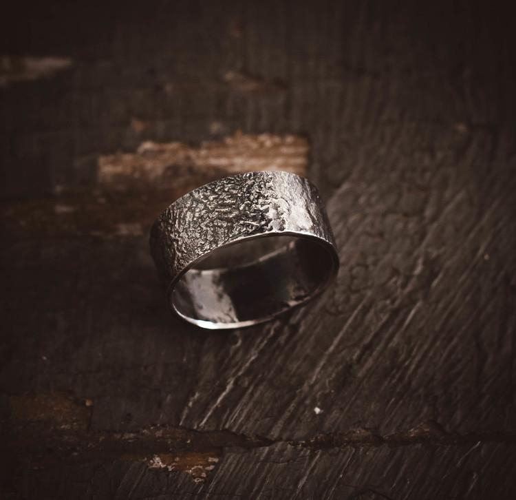 ''Arktis'' Silver Ring