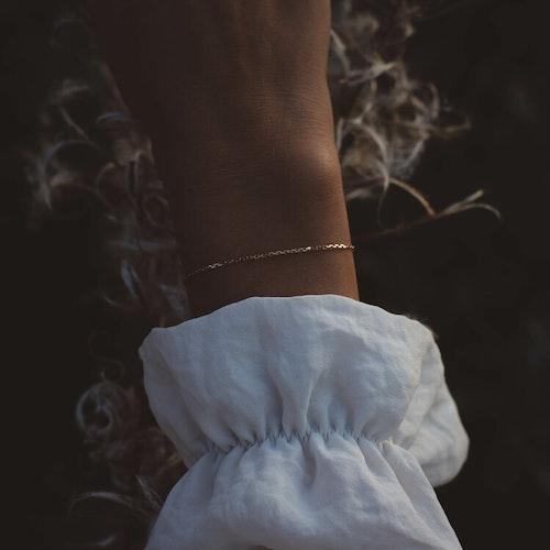 ''Skir'' 18k Red Gold Bracelet