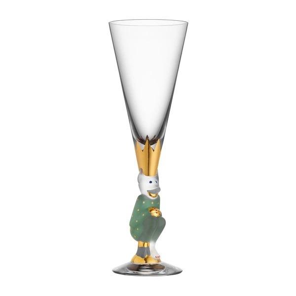 """""""Sparkling Devils"""" - Champagneglas"""