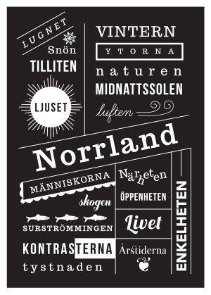 """Norrland"" 50x70cm"