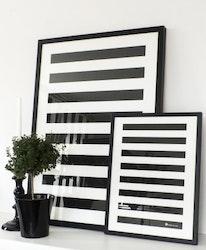 "Poster ""Stripe"" flera storlekar"