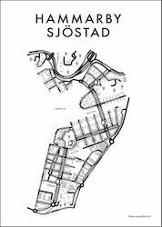 Affischen Hammaby Sjöstad