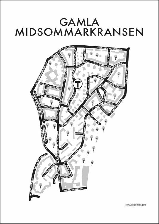 Affischen Gamla Midsommarkransen
