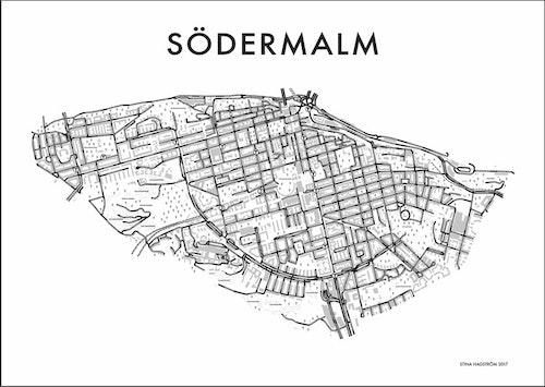 Affischen Södermalm