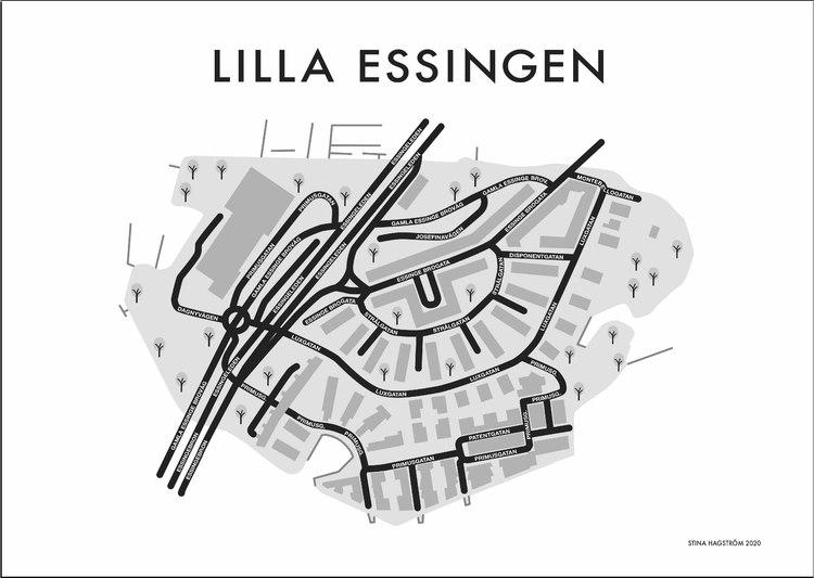 Affischen Lilla Essingen