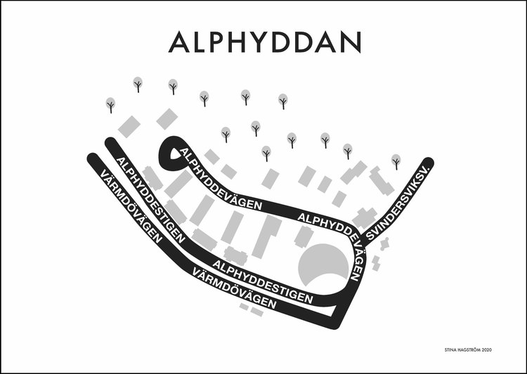 Affischen Alphyddan