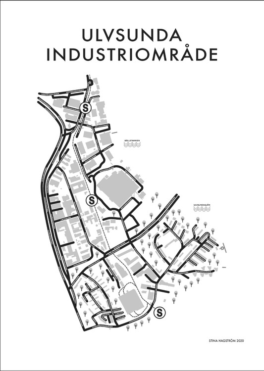 Affischen Ulvsunda Industriområde