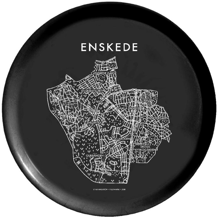 Runda brickan Enskede Postort + Enskede Gård+ Enskededalen