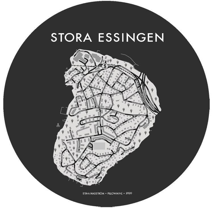 Grytunderlägget Stora Essingen