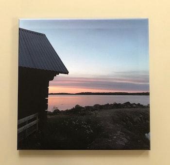 landbod Gräsö Östersida, stl 40x40 cm