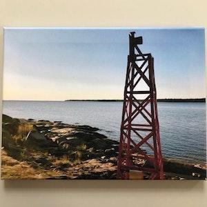 Sjömärke Öregrund, stl 40x30 cm