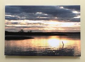 Stämningsfullt, Foto på canvas, stl 60x40 cm