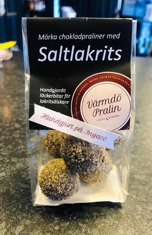 5-p Chokladpraliner Saltlakrits