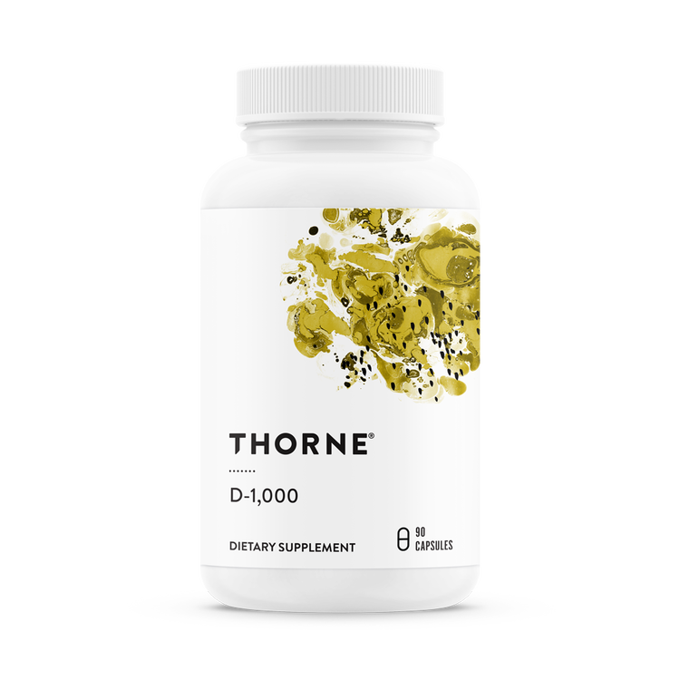 Vitamin D3  D1000, Thorne