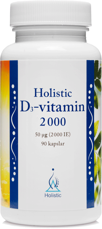 D3-vitamin 2 000, Holistic