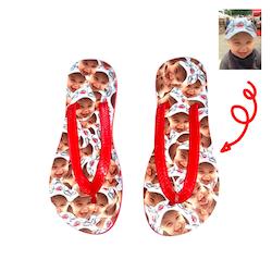 Personliga Flip Flops med eget foto - Barn