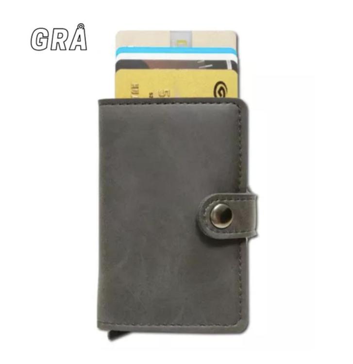 RFID korthållare plånbok